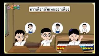 สื่อการเรียนการสอน ประชาธิปไตยในโรงเรียนและชุมชน ป.3 สังคมศึกษา