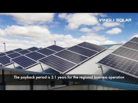 Yingli Solar - Powering Australian Businesses