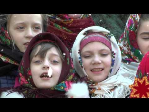 """""""Різдвяний вертеп"""". Учні Рівненської ЗОШ №24"""