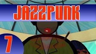 Der 7. Part des wahnwitzigen Comedy-Adventures Jazzpunk!-----------------------------------------------------------------------------►FACEBOOK: • http://www.facebook.com/KOSAFilm►TWITTER:• http://twitter.com/#!/KOSAFilmYT►OFFIZIELLE STEAM GRUPPE:• http://steamcommunity.com/groups/KOSAFilm►OFFIZIELLER FANSHOP:• http://kosafilmshop.spreadshirt.de/►GRAFISCHES GÄSTEBUCH ZUM REINMALEN:• http://www.graphicguestbook.com/kosafilm-------------------------------------------------------------------------«JAZZPUNK»Comedy-Adventure von Necrophone Games (2014).Offizielle Seite: http://necrophonegames.com/jazzpunk/«LET'S PLAY JAZZPUNK»Kommentiertes Gameplay von KOSAFilm (2014).