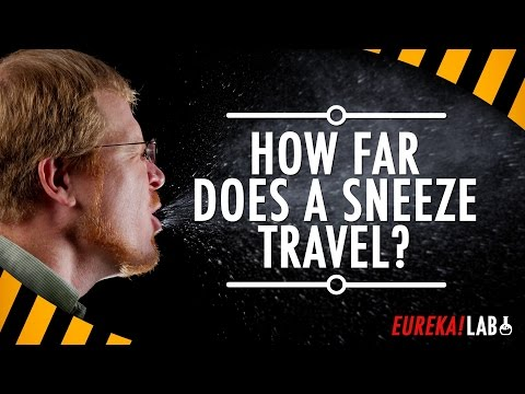 How Far Does A Sneeze Travel