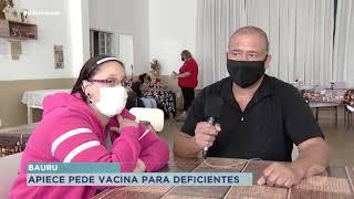 Instituição pede prioridade na vacinação de pessoas com deficiência