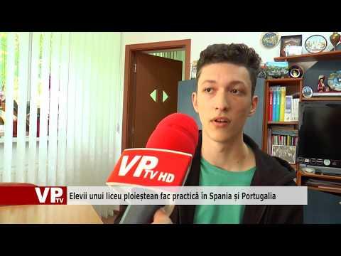Elevii unui liceu ploieștean fac practică în Spania și Portugalia