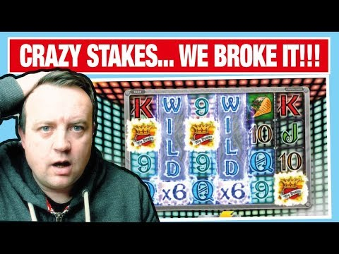 HIGH STAKE SLOTS !!! I DONT BELIEVE IT !!!