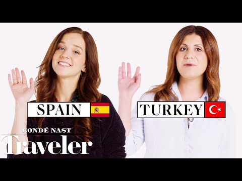 70 People Reveal How To Say Hello And Goodbye In Their Country | Condé Nast Traveler