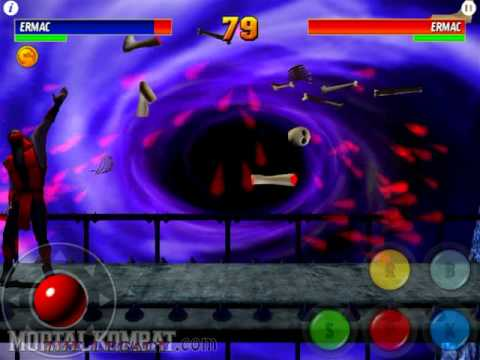 ultimate mortal kombat 3 ios ermac