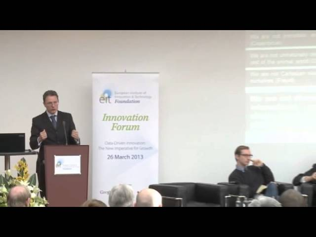 Innovation Forum 2013 - The philosophy of information and information ethics - Luciano Floridi