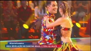 Eliminado na última semana, o ator e cantor Mika foi uma das grandes revelações do Dancing Brasil, que está em sua fase final.
