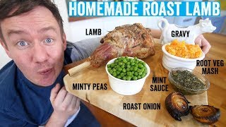 How to make a roast dinner #4 | Roast Lamb by  My Virgin Kitchen
