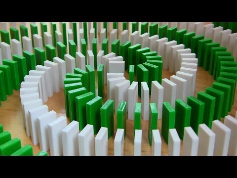 INSANE Domino Tricks! (Hevesh5 & MillionenDollarBoy) (видео)