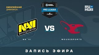 Na`Vi vs mousesports - ESL Pro League S7 EU - de_nuke [yXo, ceh9]