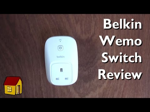 Belkin Wemo switch review and discussion of IFTTT connectivity and SDK issues
