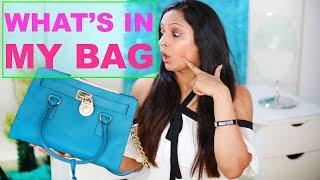 What's In My Bag??   ShrutiArjunAnand
