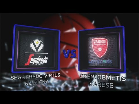 Virtus, gli highlights del match contro la Pallacanestro Varese