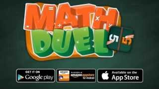 Math Duel: 2 Player Math Game YouTube video