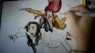 Hi there, I almost forgot about Steins;Gate, good thing I remember xDSo here' s the video of drawing Okabe Rintarou and Kurisu Makise from this anime, hope you like it :3Leave a like if U did, and subscribe if U want :3