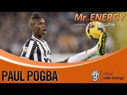 Pogba Hanwha Mr. Energy di Novembre! - Pogba voted Hanwha Mr. Energy for November!
