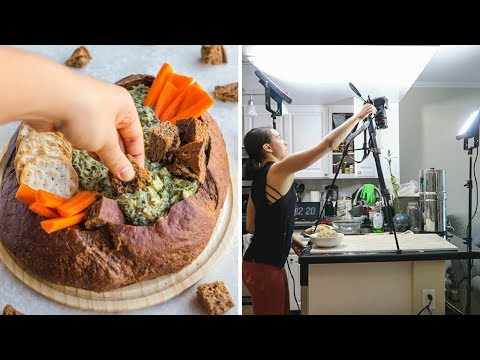 Behind The Scenes Of Filming Recipe Videos + What I Ate Today