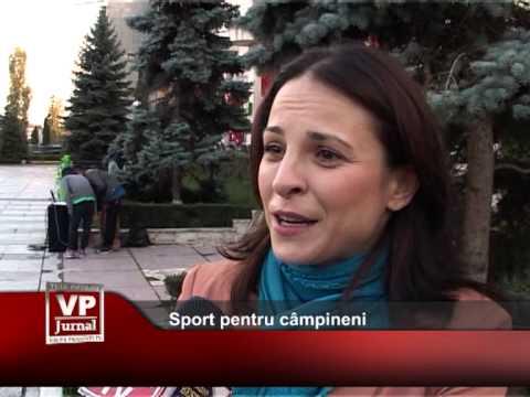 Sport pentru câmpineni