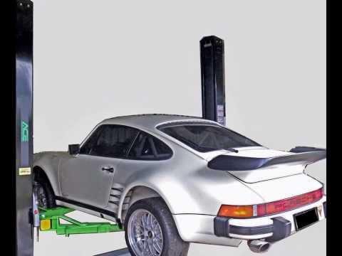 2 Post Car Hoist ACE-4000BE Automatic 4000Kg capacity vehicle hoist