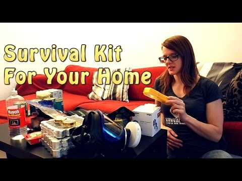 Survival Kit For Your Home (видео)