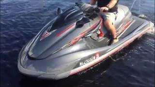 5. 2012 Yamaha Waverunner FZR SHO (Super High Output) $9950