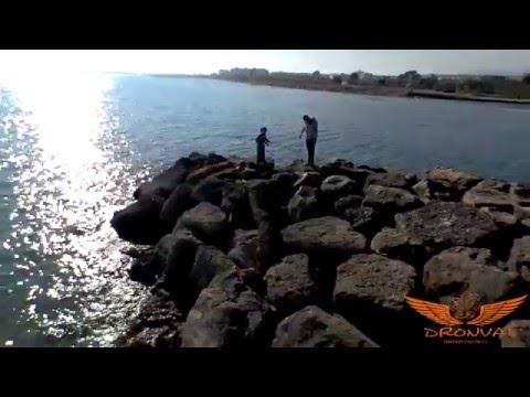 Filmaci�n A�rea con Drones.(Playa de Canet de Berenguer-Puerto de Sagunto)[;;;][;;;]