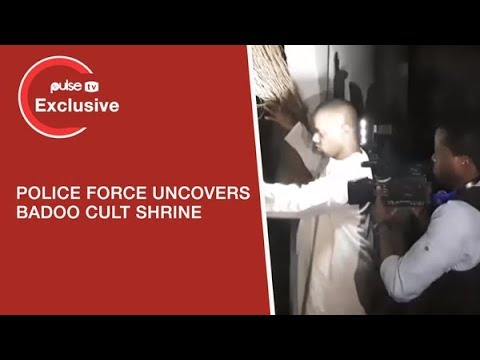 Badoo Ikorodu: Lagos Police Command uncovers Badoo Cult Shrine in ikorodu | Pulse TV