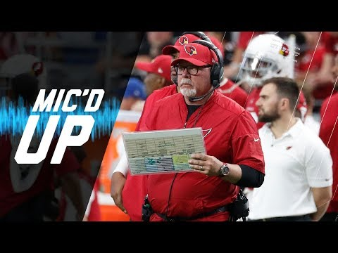 Video: Bruce Arians Mic'd Up vs. 49ers