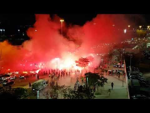 Copa do Brasil: Chegada do Flamengo - Nação 12 - Flamengo