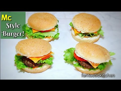 My home made cheese burger | so yum!