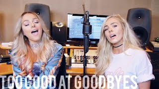 Video Sam Smith - Too Good At Goodbyes (Emma Heesters & Samantha Harvey Cover) MP3, 3GP, MP4, WEBM, AVI, FLV Maret 2018