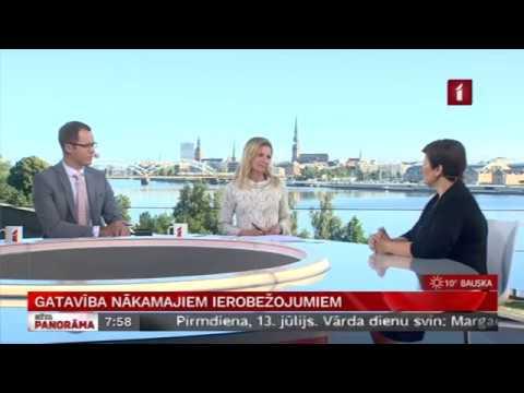 """LTV """"Rīta Panorāma"""" saruna ar veselības ministri Ilzi Viņķeli par epidemioloģisko situāciju Latvijā"""