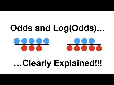 StatQuest: Odds and Log(Odds), Clearly Explained!!!
