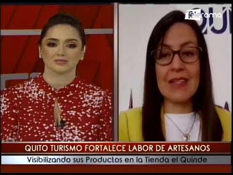 Quito Turismo fortalece labor de artesanos visibilizando sus productos en la tienda el Quinde