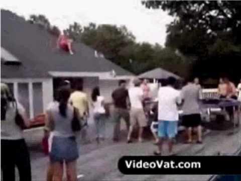 Saltando como locos