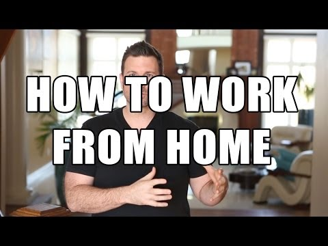 how to work from home – how to succeed at work from home jobs