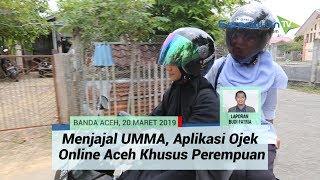 Tidak untuk Lelaki! UMMA, Aplikasi Ojek Online Made in Aceh Khusus Perempuan