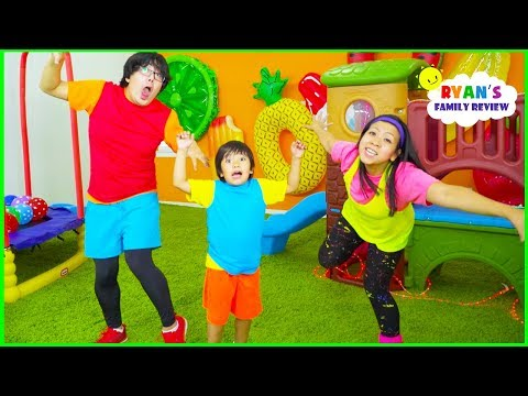 Body Parts Exercise Songs for Children 🎵 You Can Do It Too 🎵 Ryan's Family Review!