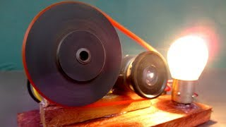 How to make Free energy electric DC motor generator 220V - Great Idea 2018