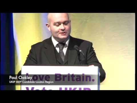 Defending British Justice: Paul Oakley, MEP Candidate London Region