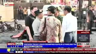 Video Jokowi Tinjau Langsung Lokasi Ledakan di Surabaya MP3, 3GP, MP4, WEBM, AVI, FLV Juli 2018