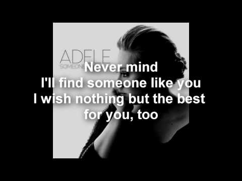 Adele – Someone Like You (Lyrics/Letra) – HD