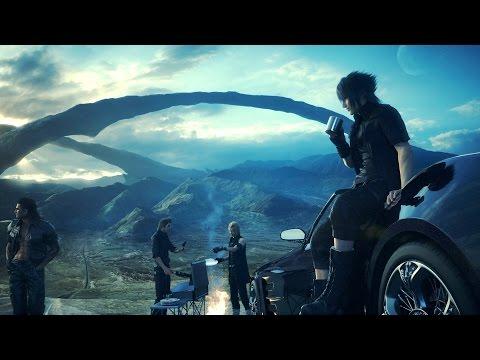 Начало Final Fantasy XV с Бейсовским и Одинцовой