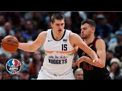 Video: Nikola Jokic passes Kareem Adbul-Jabbar on triple-double list in Nuggets win | NBA Highlights