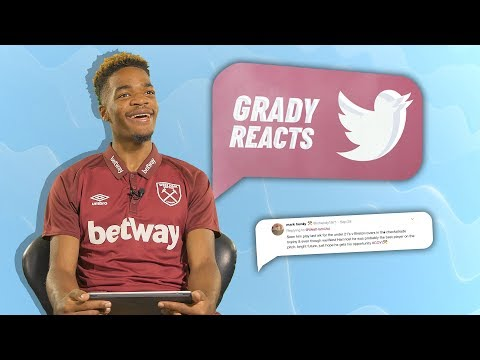 GRADY DIANGANA REACTS TO TWEETS ABOUT HIMSELF