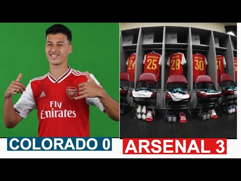 COLORADO RAPIDS 0 - 3 ARSENAL | ARSENAL PRE-SEASON USA | HIGHLIGHTS | MARTINELLI SCORES