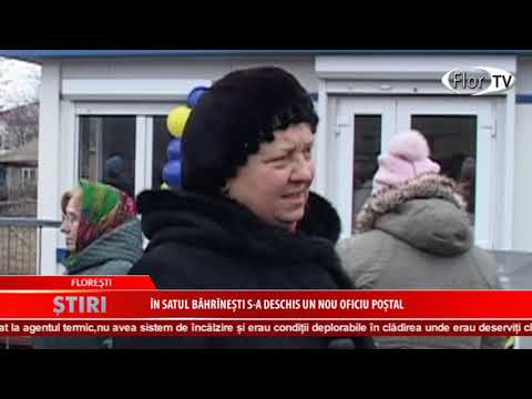 În satul Băhrînești s-a deschis un nou oficiu poștal