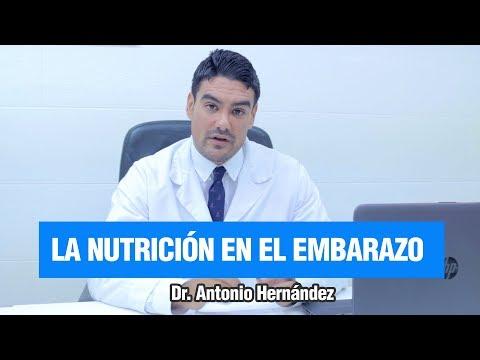 LA NUTRICIÓN ANTES Y DURANTE EL EMBARAZO | Dr. Antonio Hernández