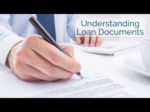 Understanding Loan Documents